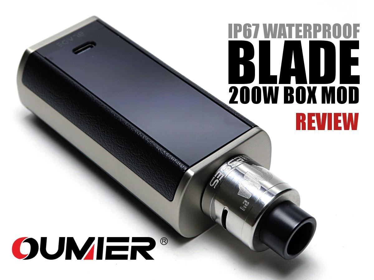 Oumier Blade 200W Box Mod